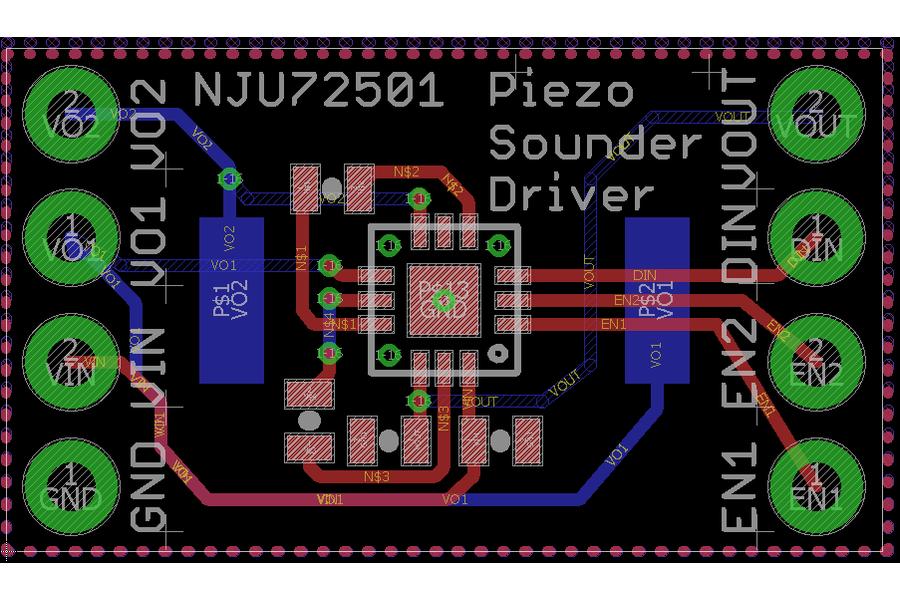 Piezo Sounder Test Board