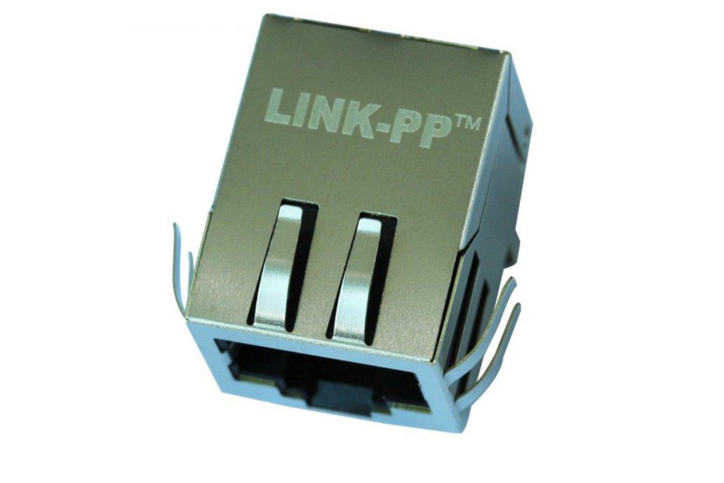 J0026D21NL 10/100 Base-T Single Port RJ45 Socket 1