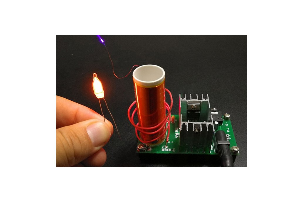 Mini Tesla Coil Plasma Arc Speaker DIY Kit (13034) 2