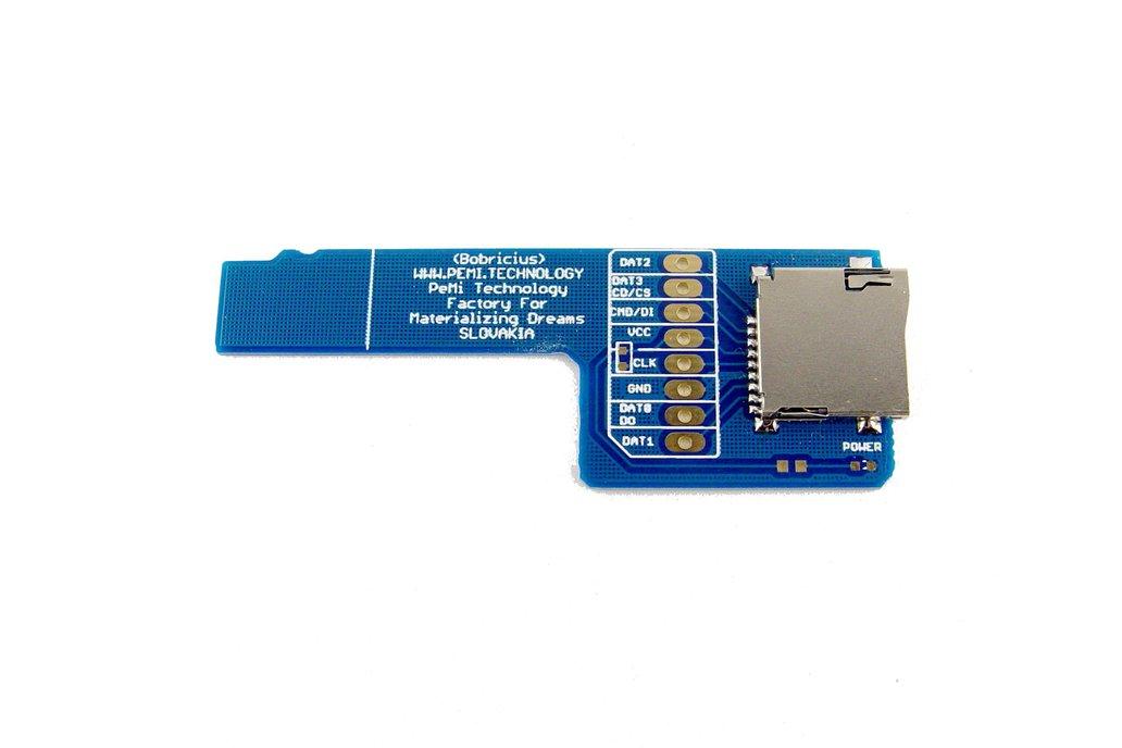 micro SD card sniffer for Logic analyzer 1