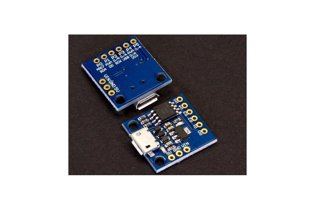AT TINY85 ARDUINO 2*1,7cm miniature  MICRO USB   3