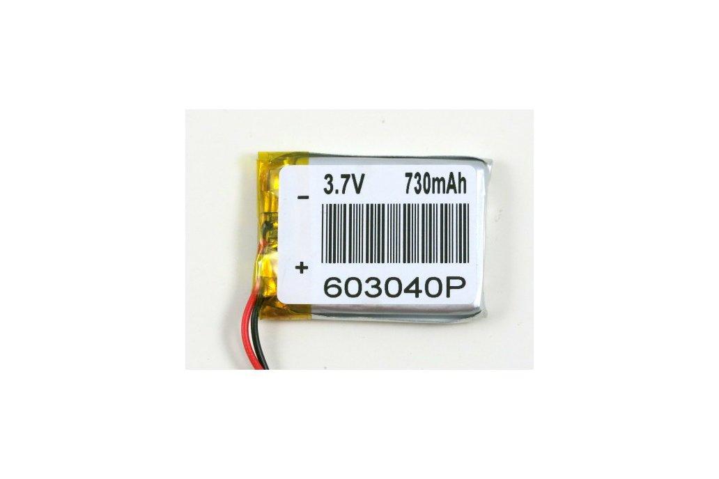 700mAh LiPo Battery (3.7V) 2