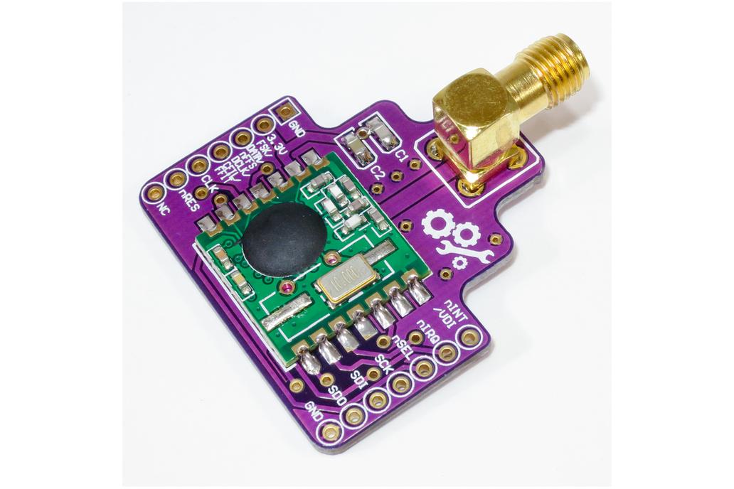 RFM12B Breakout Board - 433/868/915MHz Transceiver 1