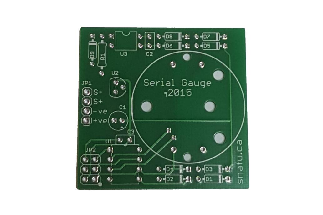 Serial Stepper Motor Gauge - PCB Only