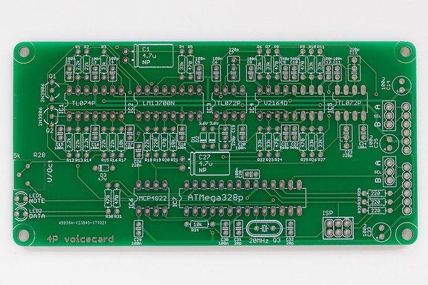 Ambika 4-Pole Voicecard PCB