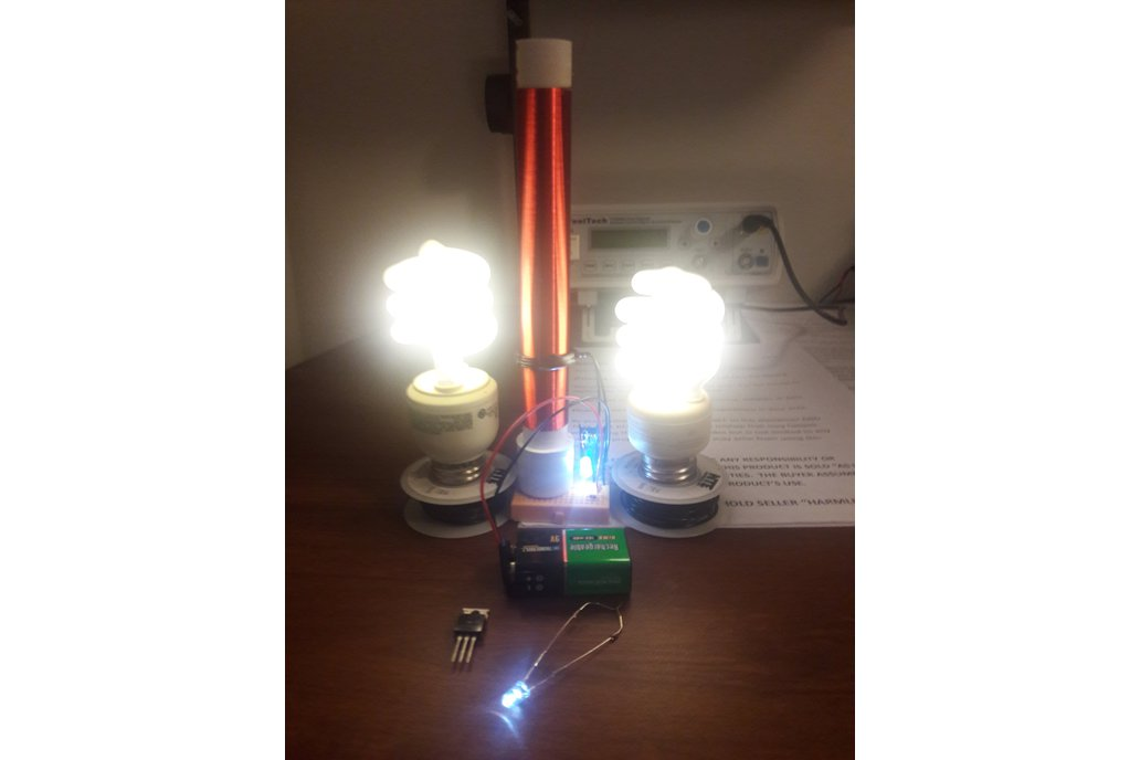 Fully Assembled Mini Tesla Coil Slayer Exciter Mad 1