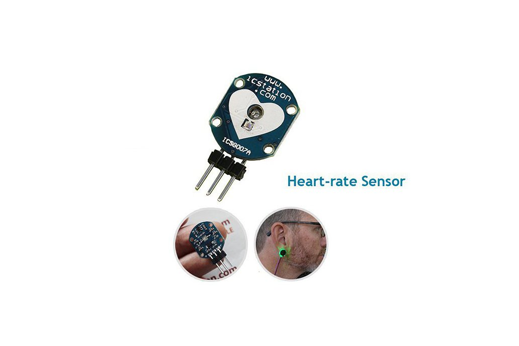 Pulse Heart-rate Sensor Module for Arduino(3554) 1