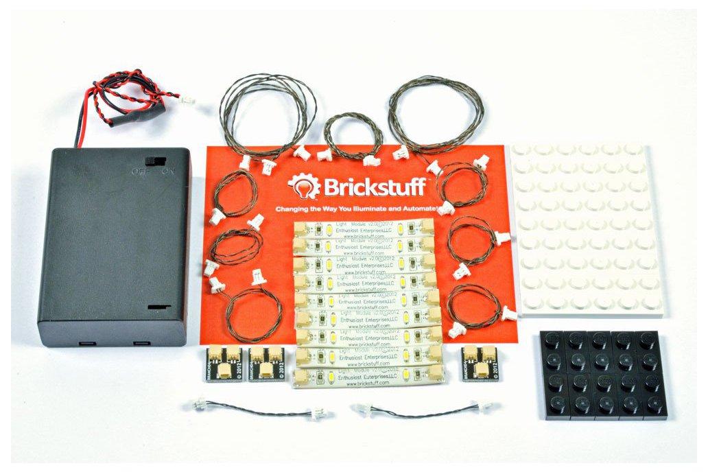 Warm White LED Light Strip Starter Kit 1