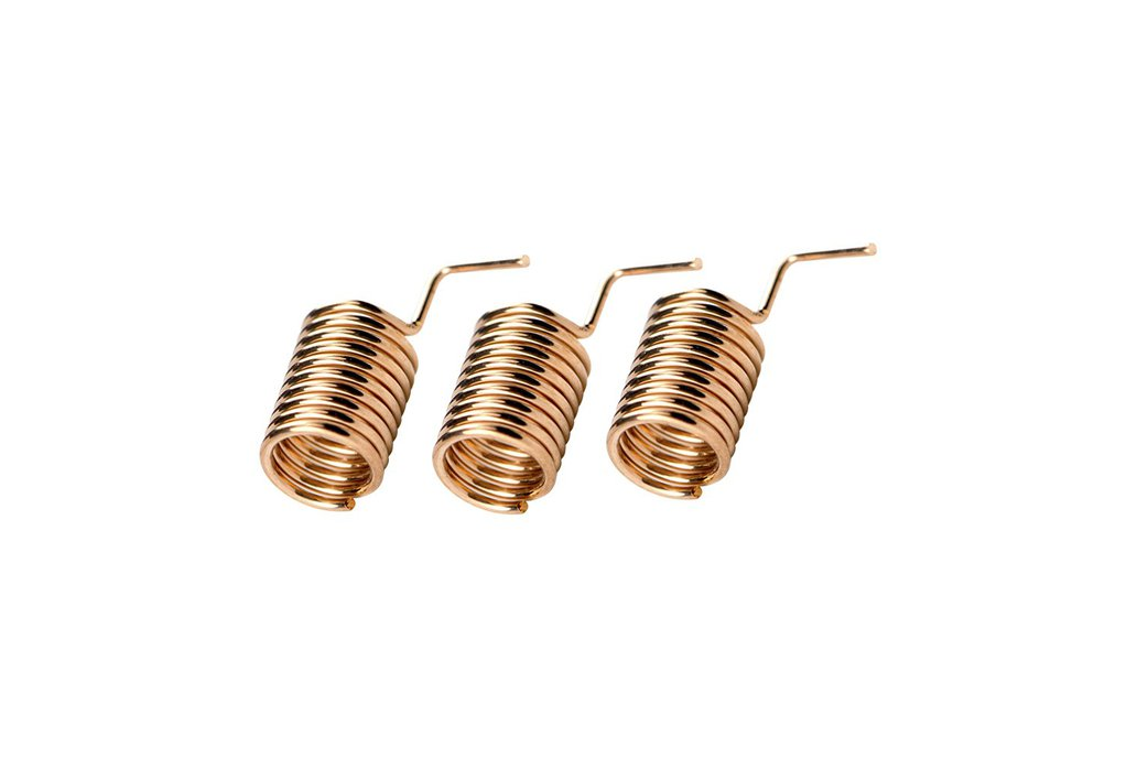 10pcs/pack SW868-TH06 Copper spring antenna 1