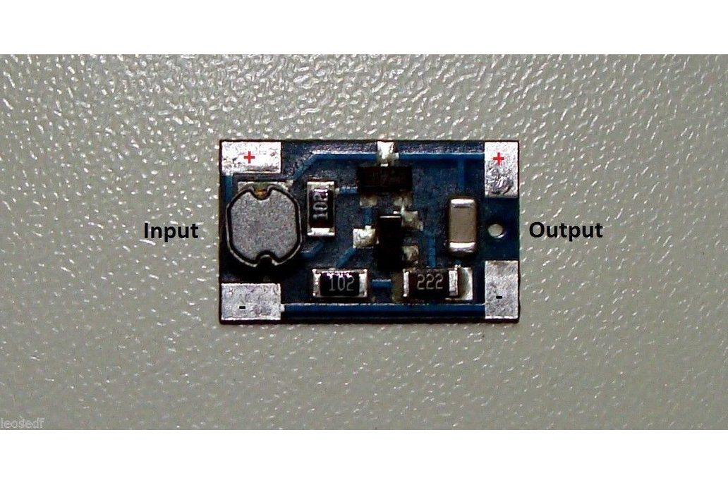 Module Joule Thief no toroid 0,8V-2,4V harvesting 1