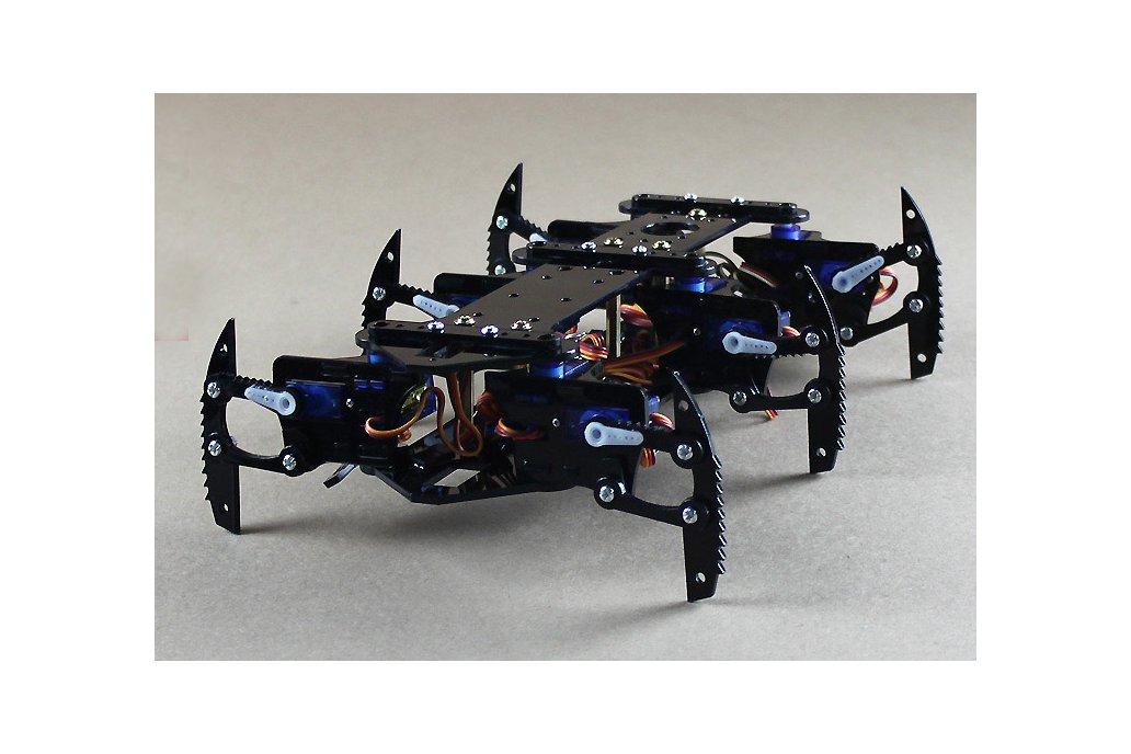 Acrylic Spider Hexapod Robot Kit 4