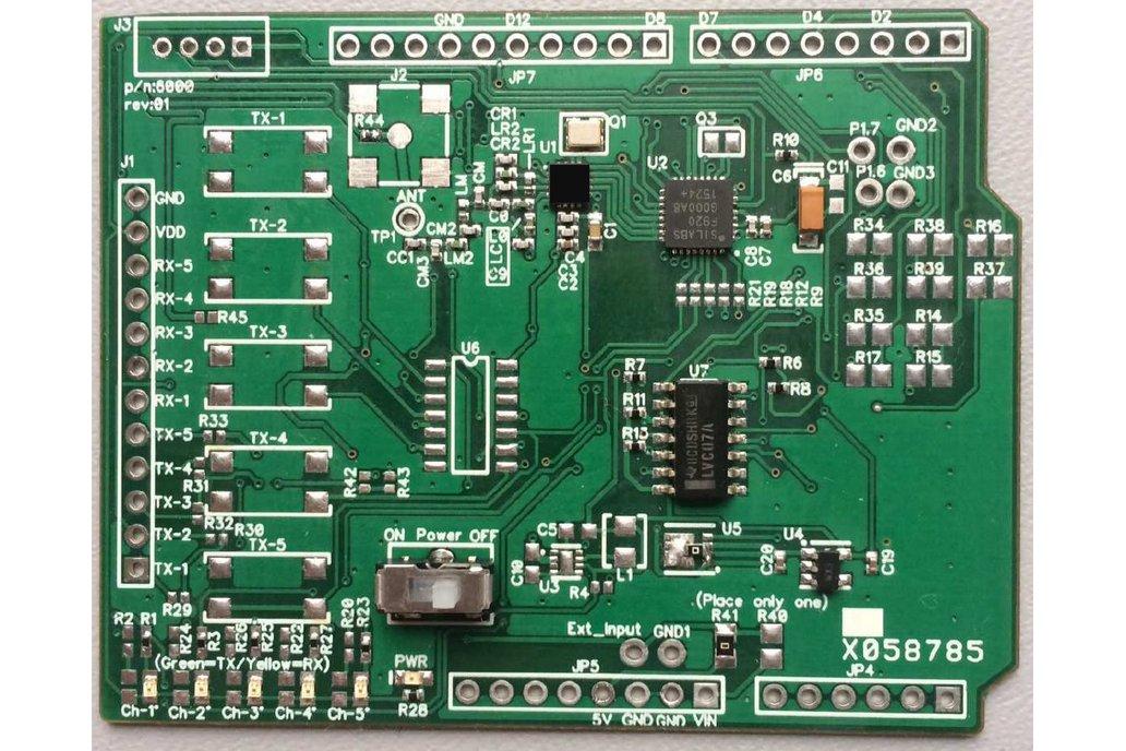 Arduino Uno Shield - Remote Control (Receiver) 1