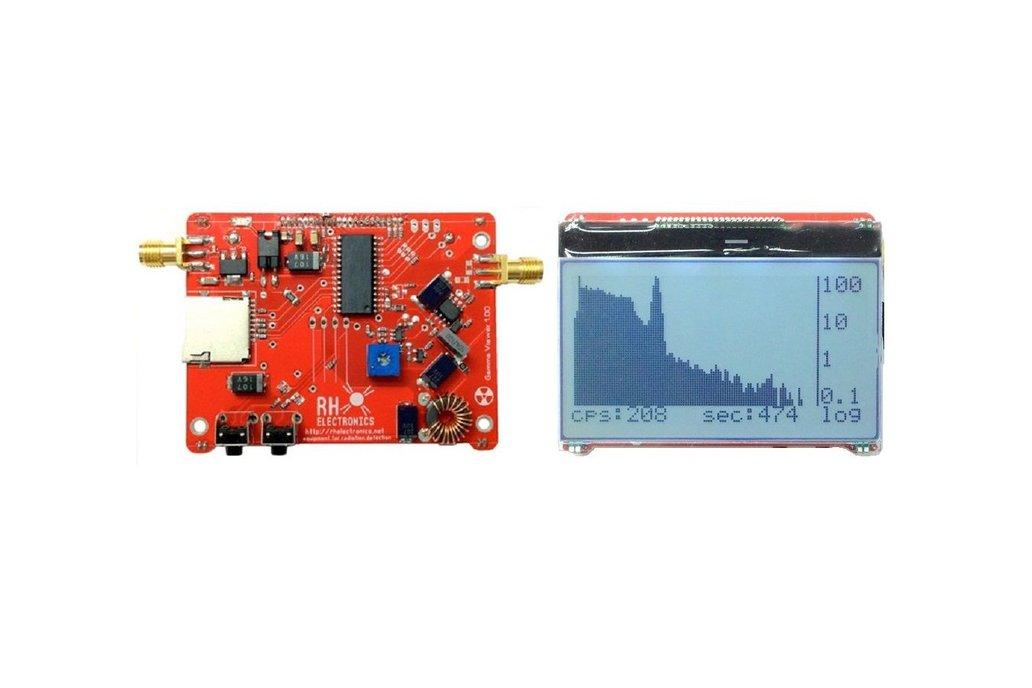 DIY Multi Channel Analyzer for Gamma Spectroscopy 2