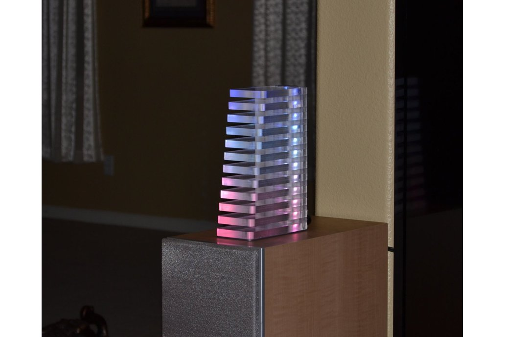 VU Tower Colorful Audio Visualizer with Bluetooth 1