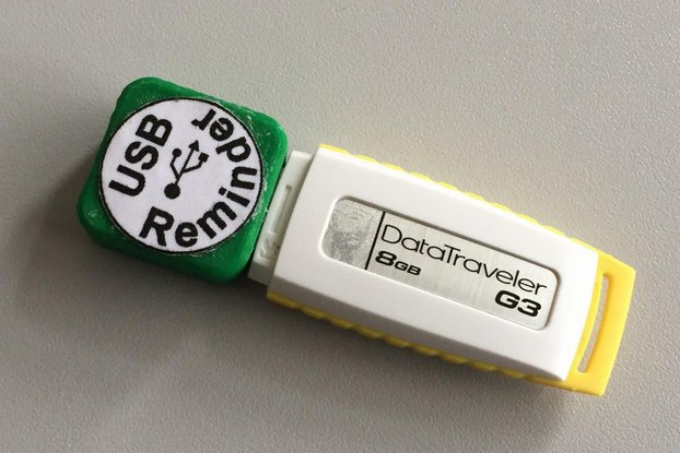 USB Memory stick reminder kit
