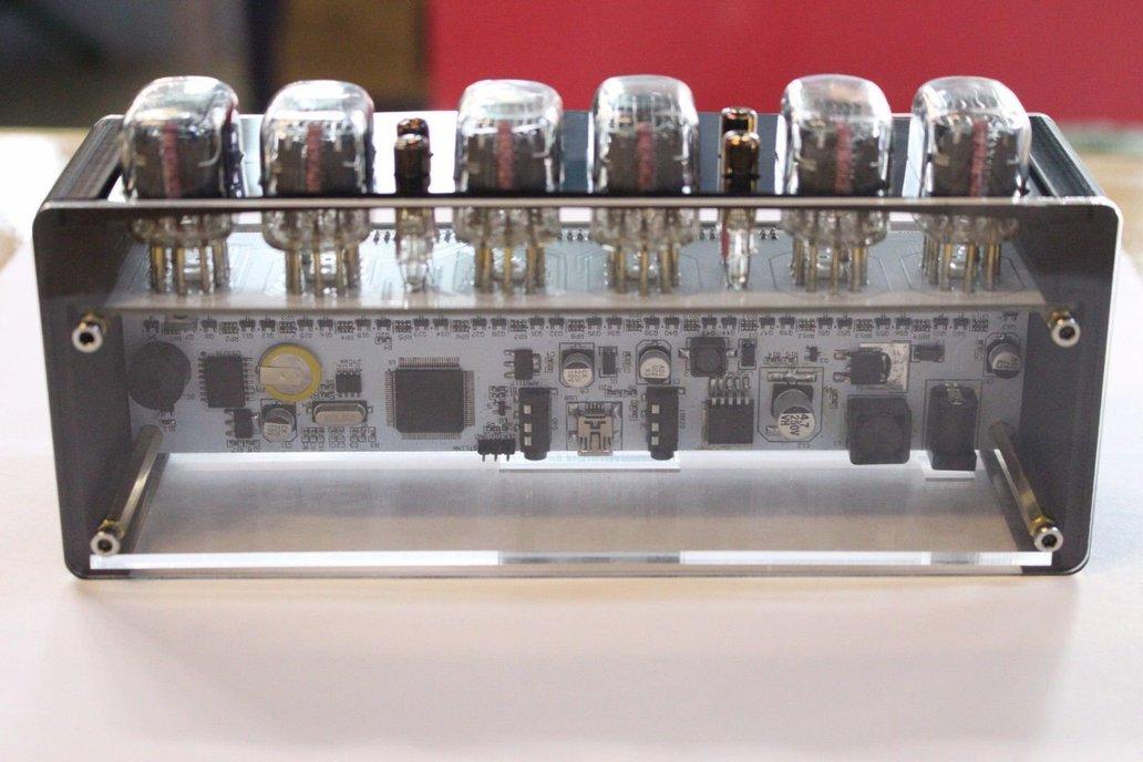 NIXT CLOCK - IN12 Nixie Tube Clock With Remote 7