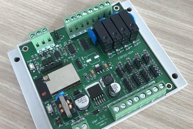 ESP32 - RS485 - 4 input - 4 output
