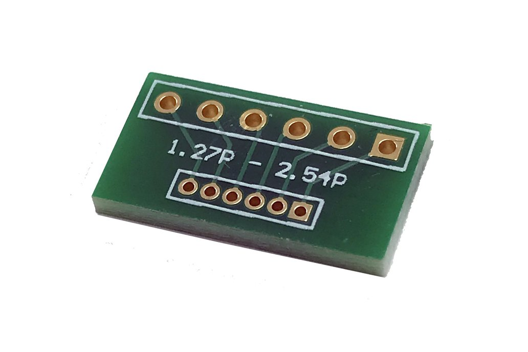 2.54mm Pitch to 1.27mm Pitch 6-pin Adapters 1
