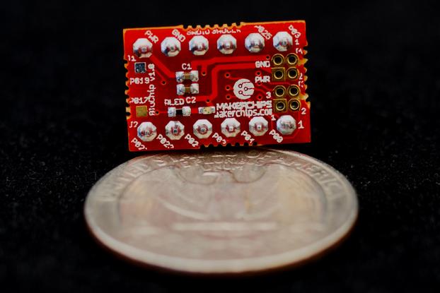 BluChip - Tiny Bluetooth 4.2 Developer Board