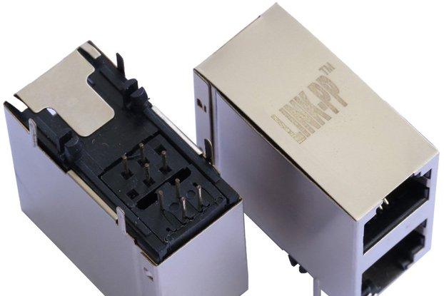 2X1 Port RJ11 6p4C Connector Without LED