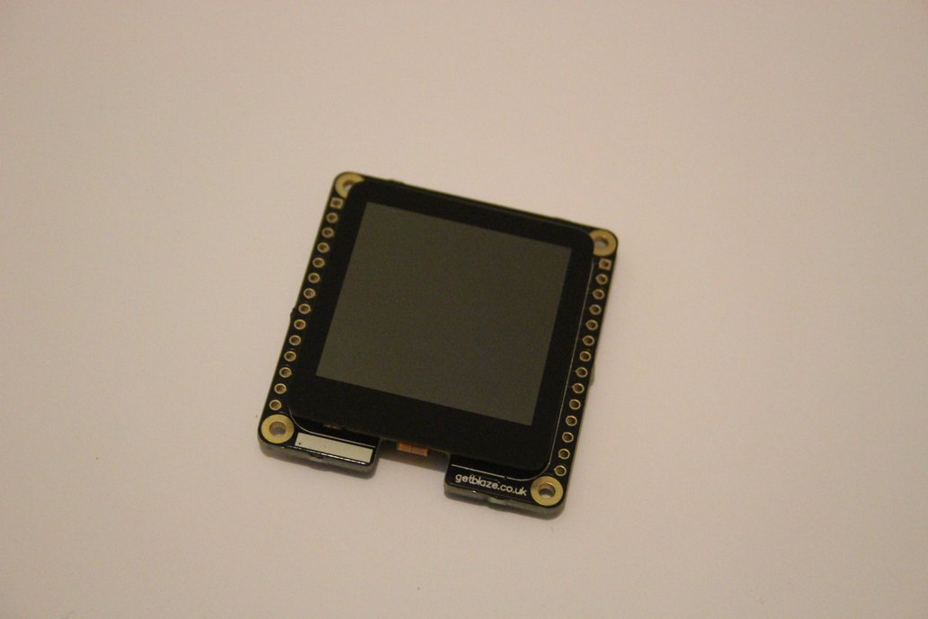 Blaze: Wearable Dev Board With Touch Display 3