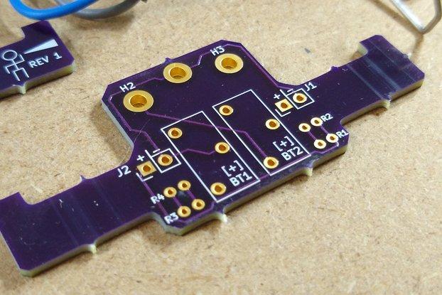 Light Follower Robot PCB