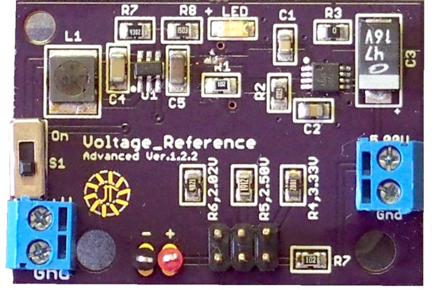 Precision Low Voltage Reference - DIY Project