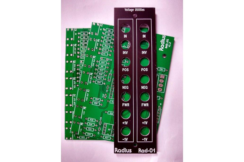 Rad-01 Voltage Utilities PCB/Panel 1