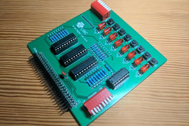Z50Bus Simple digital I/O Card
