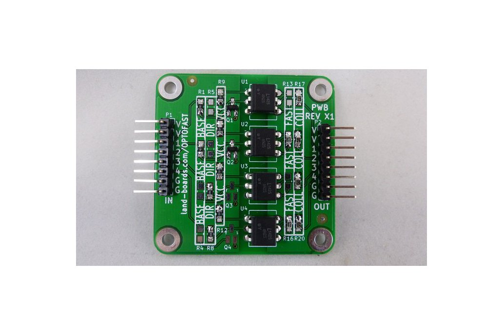 OPTOFAST - 4-Channel Opto-Coupler Card 1