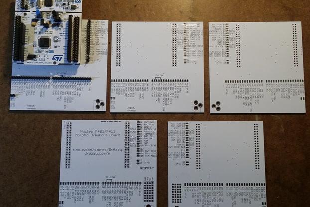Nucleo F411/F401 pin de-scrambler