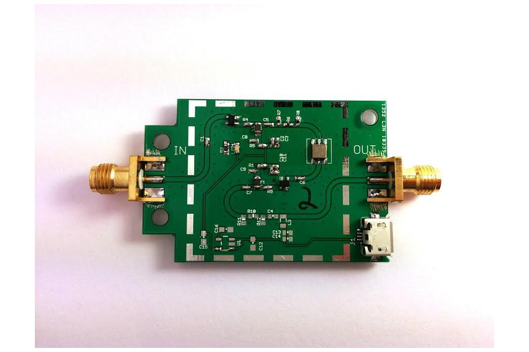 315MHz Ultra Low Noise LNA Preamplifier 1