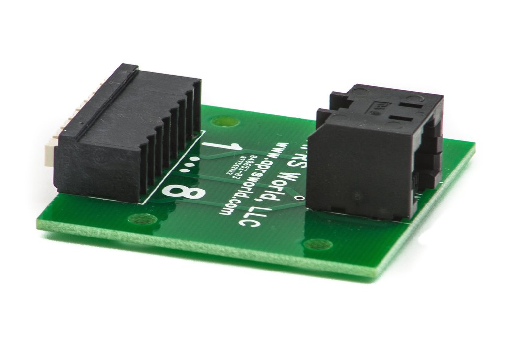 RJ-45 / 8P8C breakout board, screwless 1