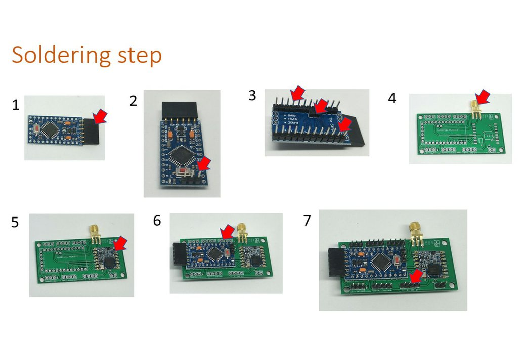 Arduino Pro Mini LoRaWAN Kit