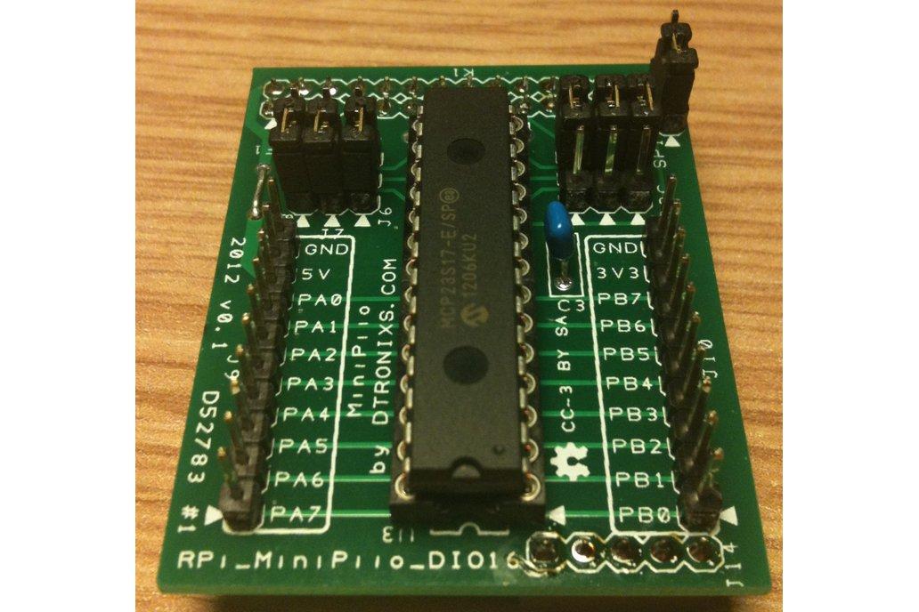 Raspberry PIIO - DIO16 - 16ch SPI Port Expander 1