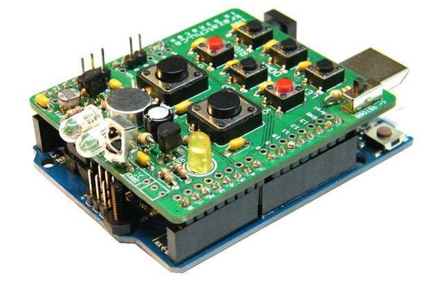 IR r3m0c0n Arduino Shield 1v09