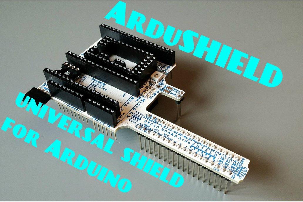 ArduSHIELD - universal shield for Arduino 2