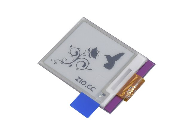 Zio E-Ink Display (1.5 in, 200x 200 pixels)
