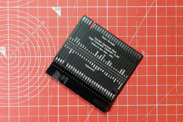 ZX Spectrum Next Through Board