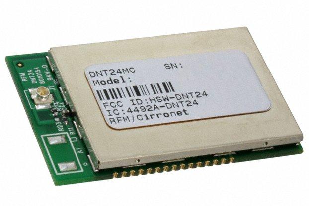 Long range module - Murata FHSS DNT24MC module
