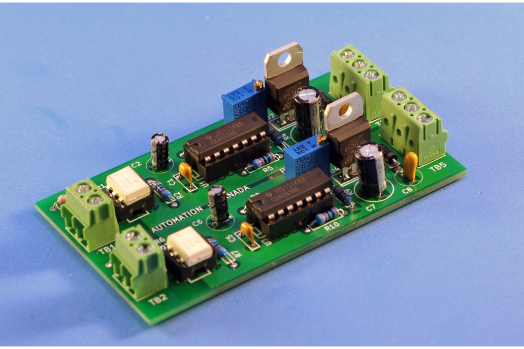 Isolated 2 or 3 channel PWM to Analog Converter 1