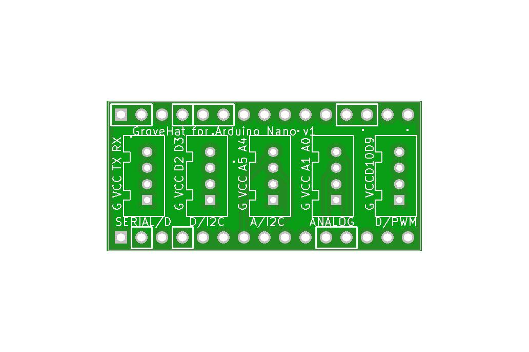 GroveHat for Arduino Nano 3