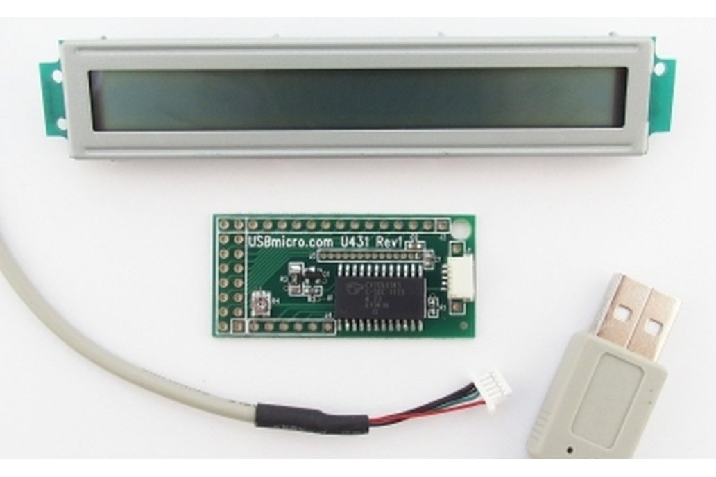 U431 USB LCD Interface w/cable w/LCD 1