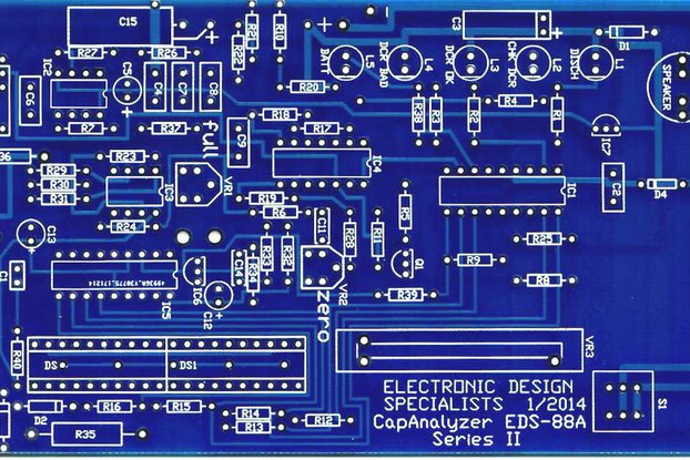 EDS Inc CapAnalyzer 88A PCB