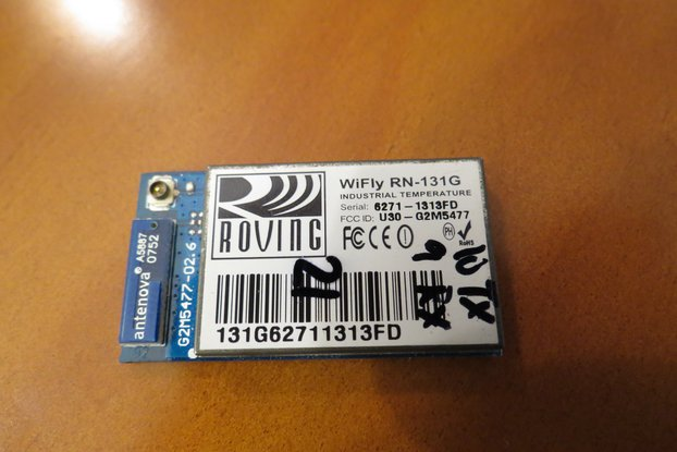 WiFly WiFi wireless module 2.4GHz uart AES IP HTTP