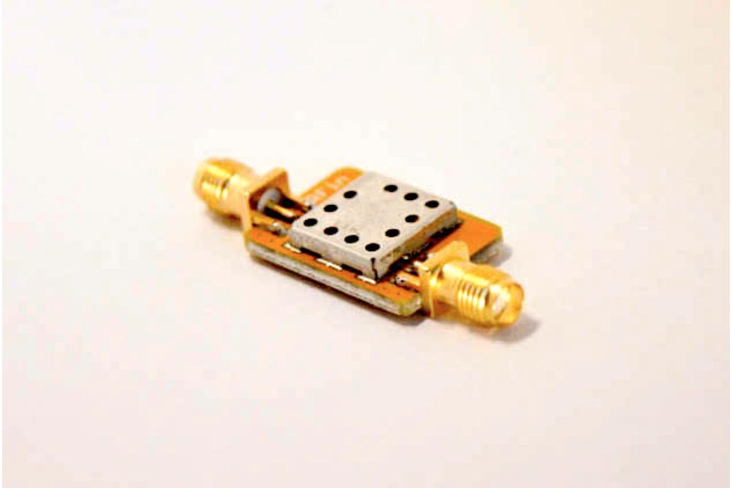 315 MHz Bandpass Filter with 500 kHz Bandwidth 1