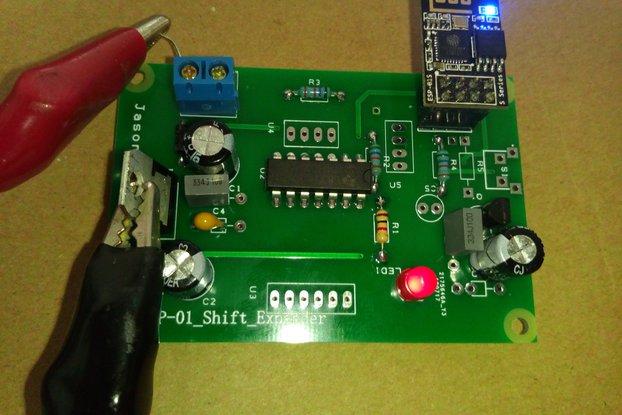 ESP8266 - ESP-01 PORT EXPANDER