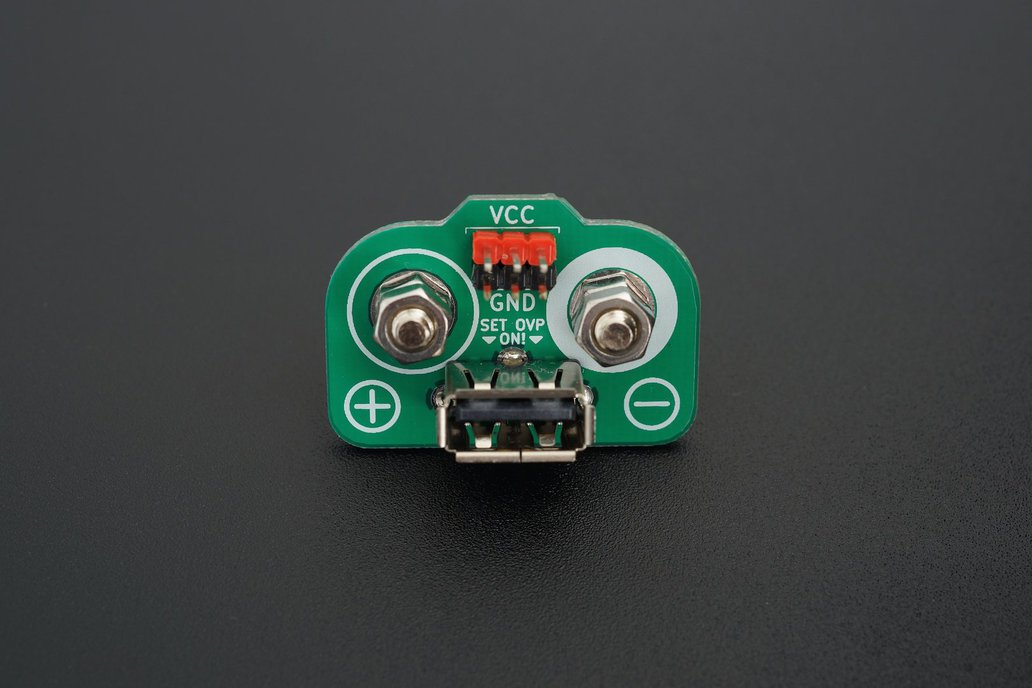 Header and USB Adapter for DC Lab Power Supply 1
