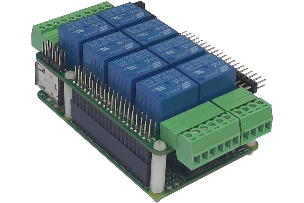 Raspberry Pi Stackable Card for Home Automation 1