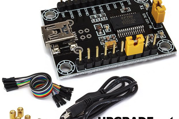Real FTDI USB Serial RS232 UART Converter 5V 3V3